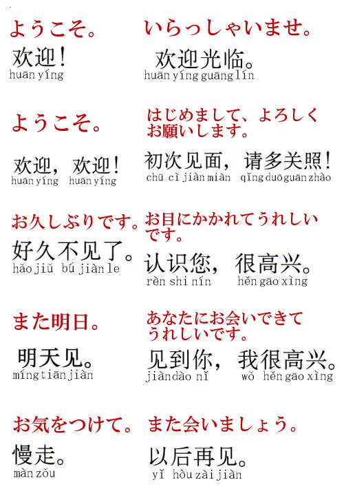 語 こんにちは 中国 你好≠こんにちは!って本当?!教科書vs実践、ネイティブが使う挨拶言葉を覚えて、初心者からスタートダッシュで一気にトップに立つ! |